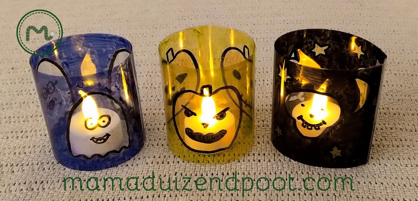 Halloween theelichthouders