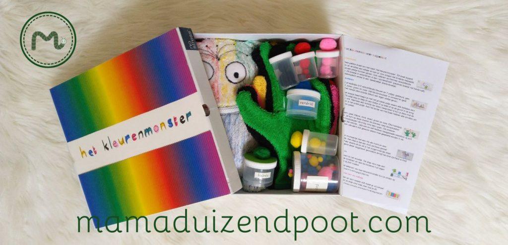 Het kleurenmonster lespakket