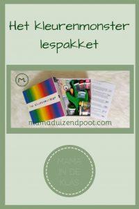 Pinterest - kleurenmonster lespakket