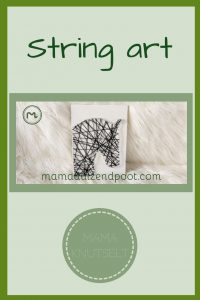 Pinterest - string art