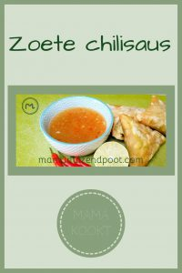 Pinterest - zoete chilisaus