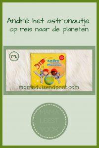 Pinterest - André het astronautje op reis naar de planeten