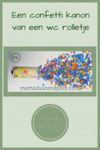 Pinterest - confetti kanon