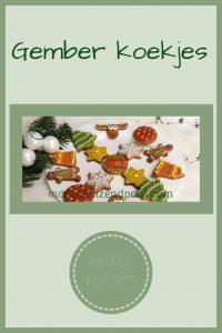 Pinterest - gember koekjes