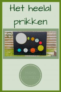 Pinterest - heelal prikken
