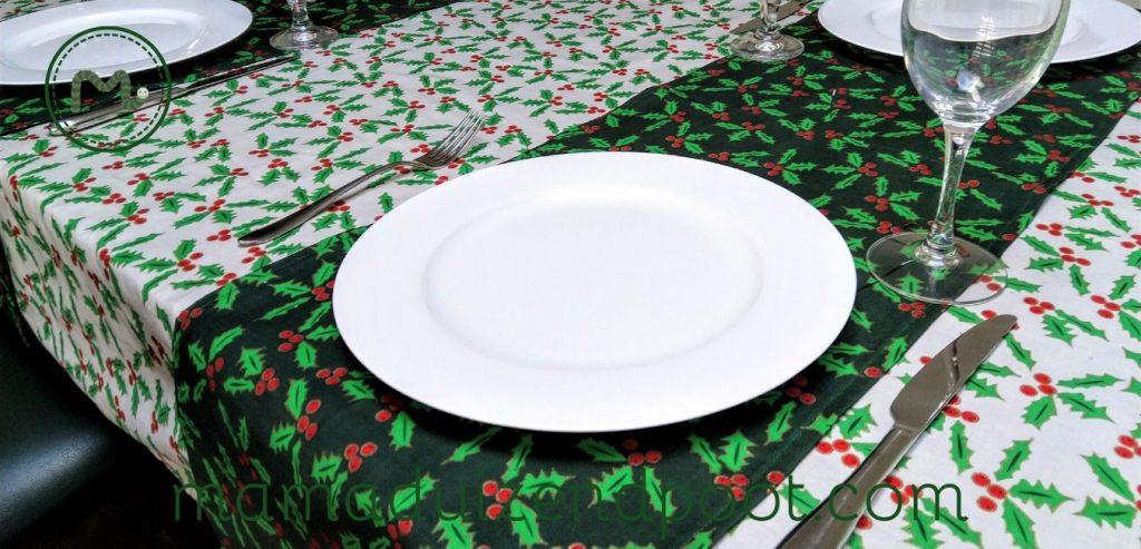 Zelf een tafelkleed of tafelloper maken