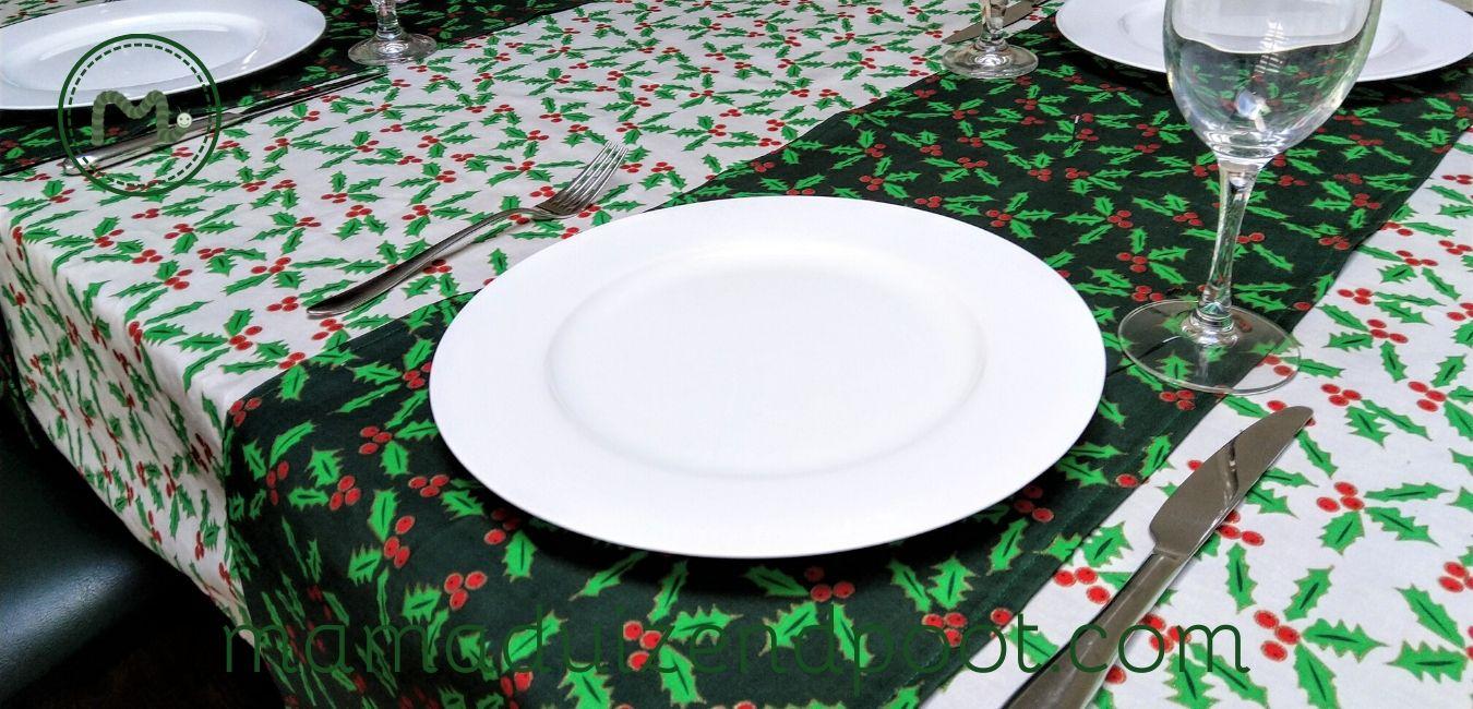 tafelkleed en tafelloper