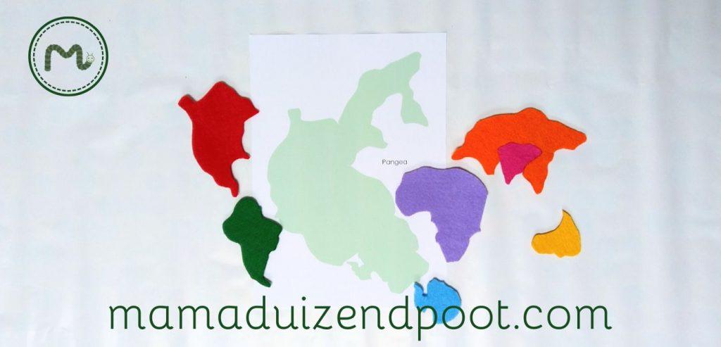 Een Pangea puzzel