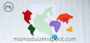 Pangea puzzel