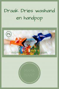 Pinterest - Draak Dries washand en handpop