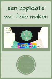 Pinterest - applicatie van folie maken