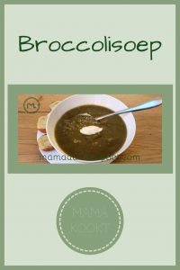 Pinterest - broccolisoep