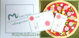rekenpizza - een pizza delen