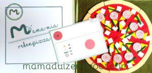 rekenpizza - hele pizza
