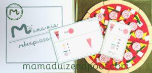 rekenpizza - van punt naar hele pizza