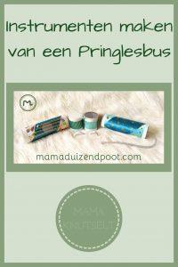 Pinterest - Instrumenten maken van een Pringlesbus