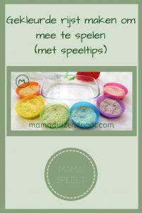 Pinterest - gekleurde rijst