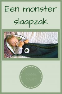 Pinterest - monster slaapzak
