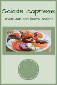 Pinterest - salade caprese