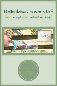 Pinterest - bellenblaas toverstaf