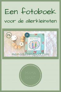 Pinterest - fotoboek voor de allerkleinsten