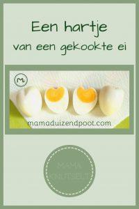 Pinterest - hartje van een gekookt ei