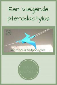 Pinterest - vliegende pterodactylus