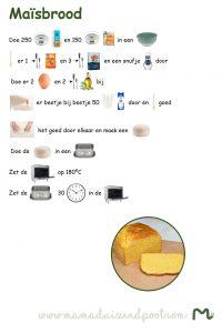 kinderrecept maisbrood