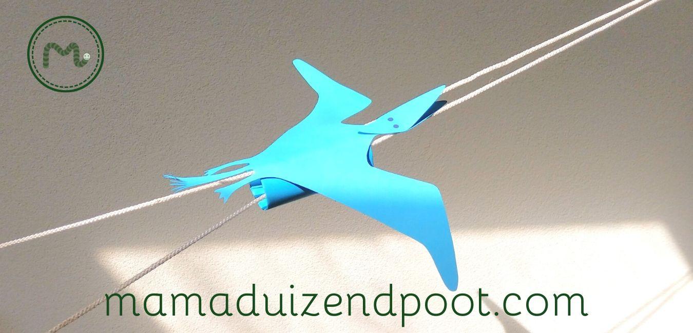 vliegende pterodactylus