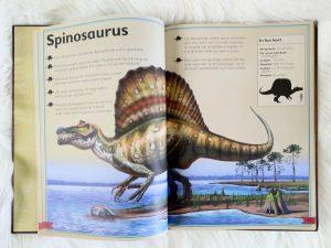 Het allermooiste boek over dinosauriërs - spinosaurus