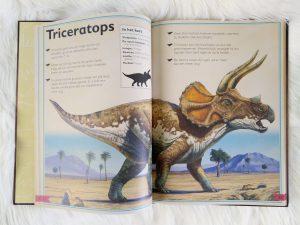 Het allermooiste boek over dinosauriërs - triceratops
