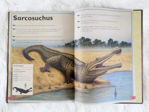 Het allermooiste boek over dinosauriërs - sarcosuchus