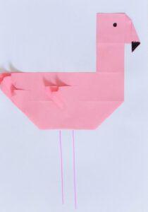 flamingo vouwen
