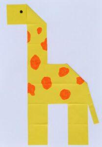 giraf vouwen