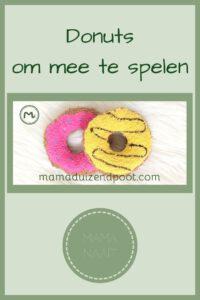 Pinterest - Donuts om mee te spelen