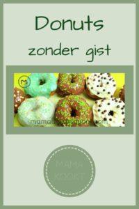 Pinterest - Donuts zonder gist
