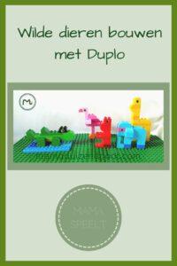 Pinterest - Wilde dieren bouwen met Duplo