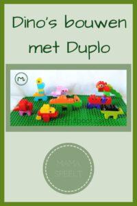 Pinterest - dino's bouwen van Duplo