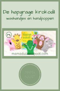 Pinterest - de hapgrage krokodil washandjes en handpoppen