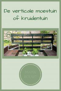 Pinterest - verticale moestuin of kruidentuin