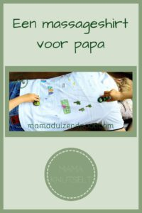 Pinterest - massageshirt voor papa