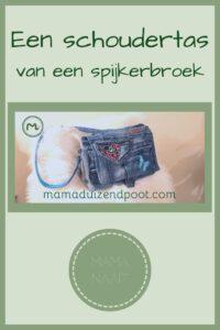 Pinterest - schoudertas van een spijkerbroek