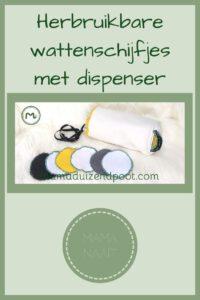 Pinterest - Herbruikbare wattenschijfjes met dispenser