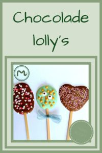 Pinterest - chocolade lolly's