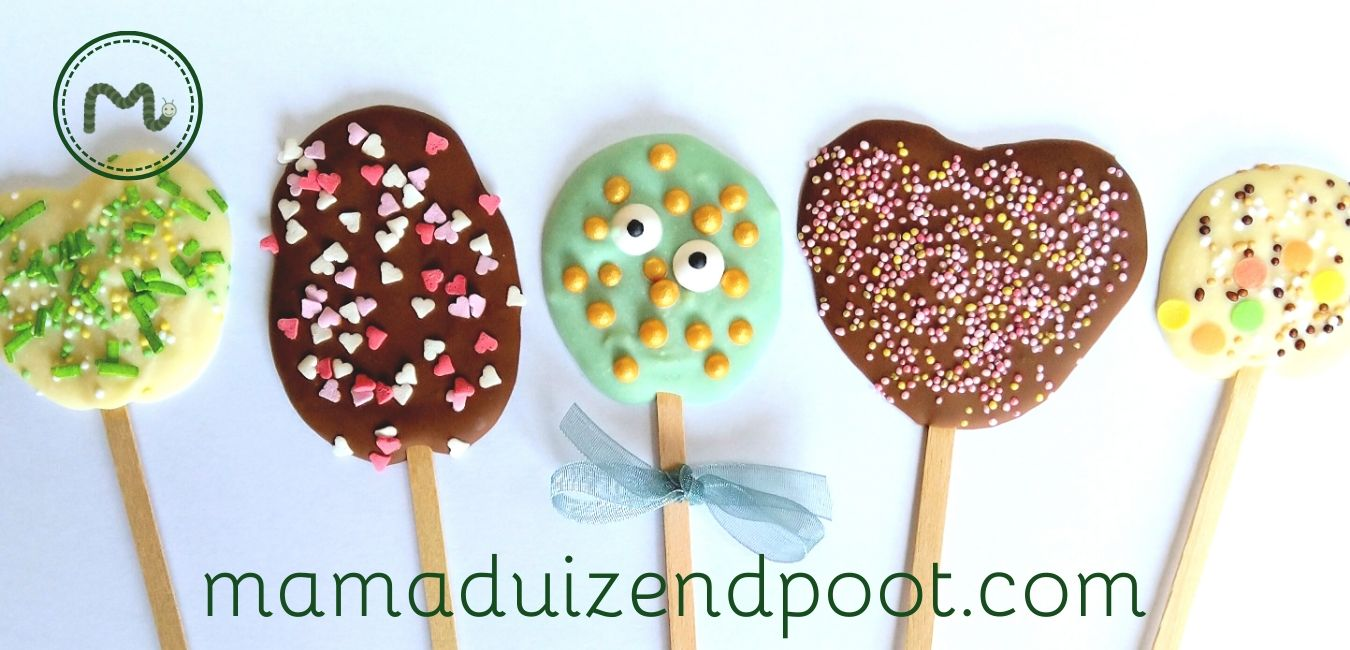 chocolade lolly's