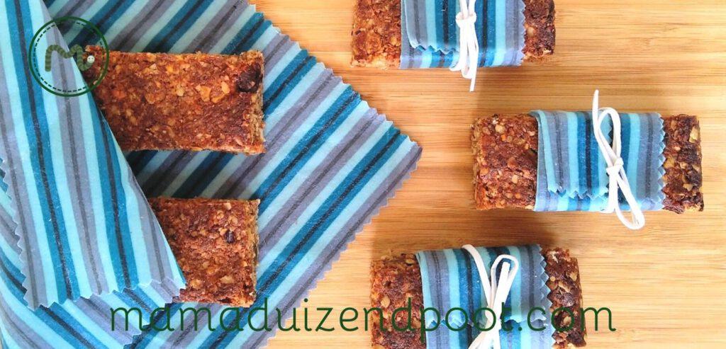 Een mueslibar of granolabar maken