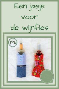 Pinterest - jasje voor de wijnfles