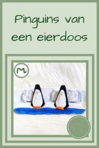 Pinterest - pinguins van eierdoos