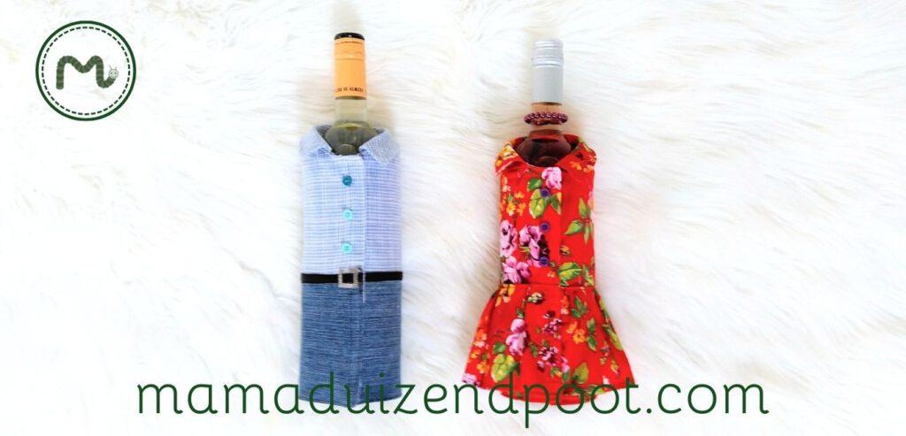 Een jasje voor de wijnfles