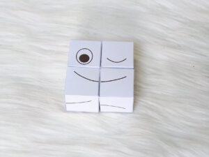 blokjes puzzel - emoties (knipoog)
